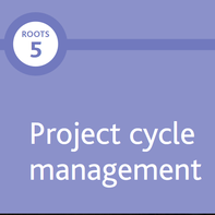 Linked button to Tearfund's Project Management Booklet (PDF)
