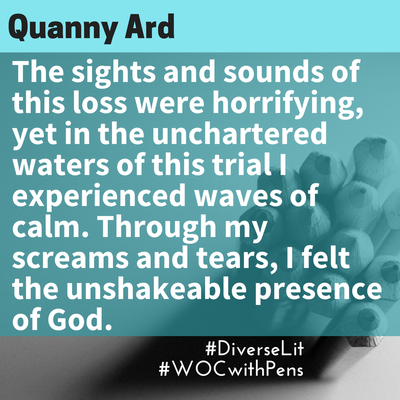 quote from Quanny Ard about miscarriage